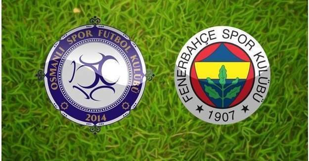 Osmanlıspor Fenerbahçe maçında eşitlik