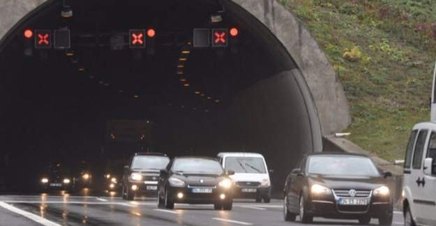Sürücüler Dikkat! Bolu Dağı Tüneli 14 gün kapanıyor