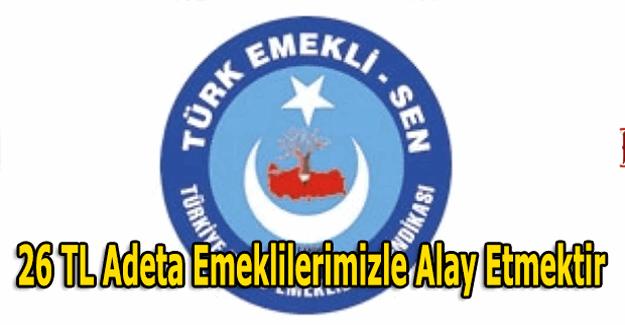 Türk Emekli-Sen başkanından emekliye promosyon açıklaması