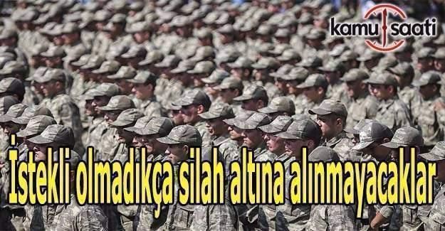 15 Temmuz şehit yakınları askere alınmayacak