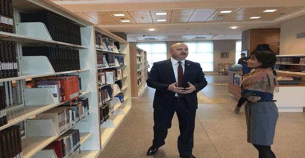 15 Temmuz Şehitlerinin Anıları AK Kütüphanede