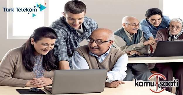 30 bin kişiye internet okuryazarlığı eğitimi verilecek