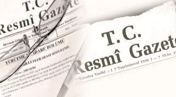 677 sayılı KHK Resmi Gazete'de yayımlandı