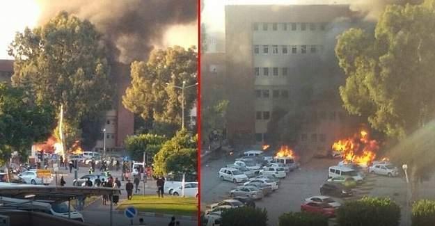 Adana Valisi'nden patlamaya ilişkin açıklamada