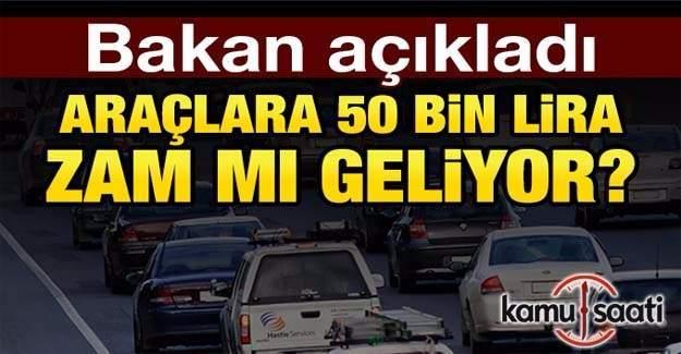 Ağbal'dan ÖTV zammı açıklaması