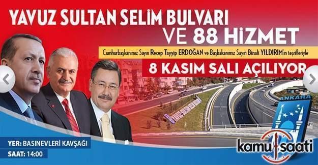 Ankara büyük açılış için hazır