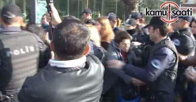 Ankara'da izinsiz gösteri: 11 gözaltı