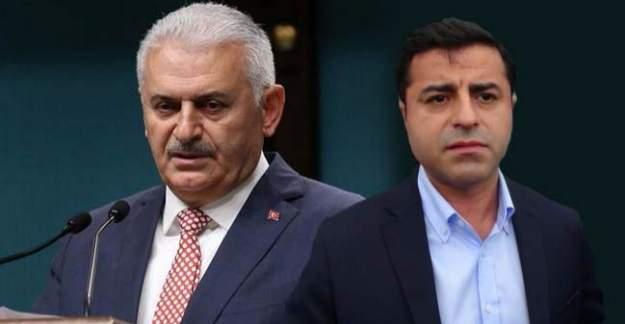 Başbakan Binali Yıldırım'dan HDP açıklaması