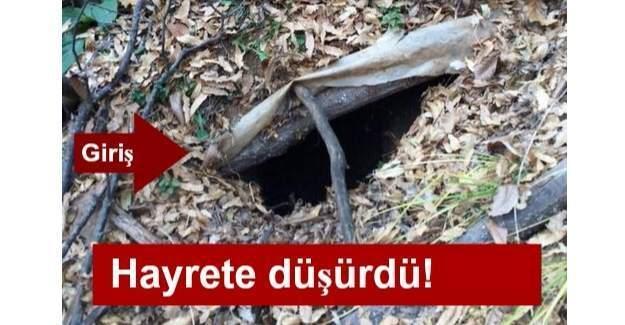 Bingöl'de 11 odalı PKK sığınağı