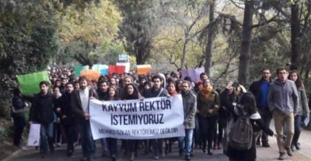 Boğaziçi Üniversitesi öğrencileri ile polis arasında arbede