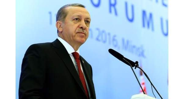 Cumhurbaşkanı Erdoğan'dan Avrupa'ya rest!