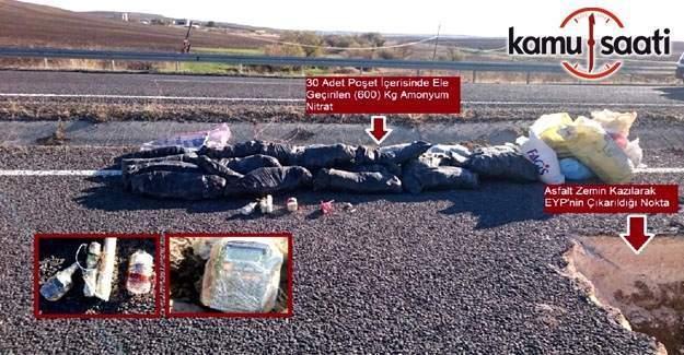 Diyarbakır Silvan Karayolunda EYP tespit edildi