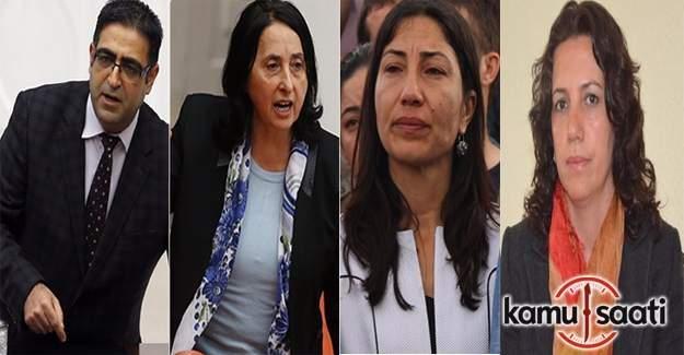 HDP'li Baluken, Aydoğan, Birlik, Irmak ve Yıldırım tutuklandı