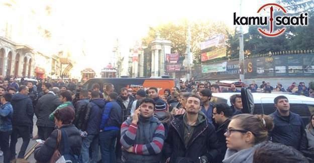 İstiklal Caddesi yaya trafiğine kapatıldı