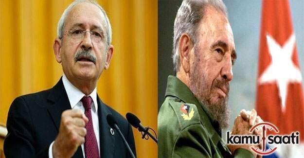 Kılıçdaroğlu'ndan Fidel Castro mesajı