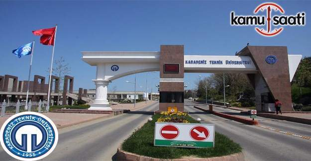 KTÜ'ye 33 profesör ve 24 araştırma görevlisi alınacak