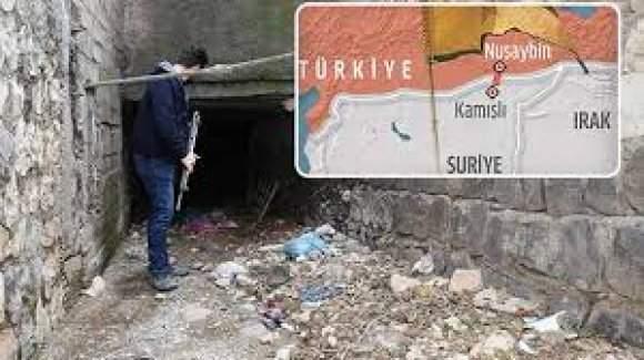 Mardin'de PKK'lıların kazdığı tünel bulundu