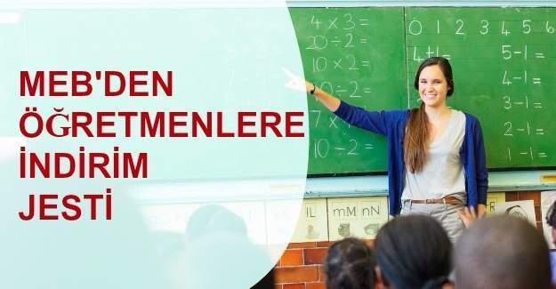 Öğretmenlere '24 Kasım Öğretmenler günü' indirimi