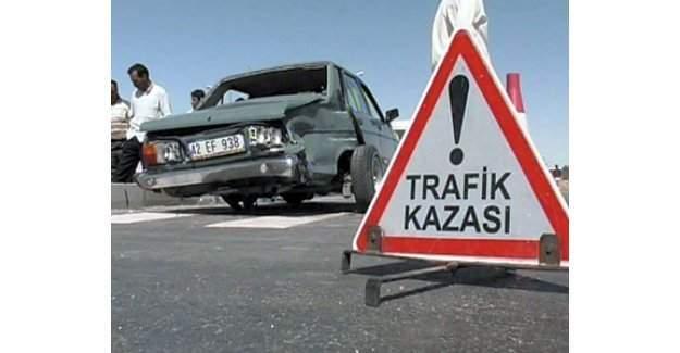 Şanlıurfa'da 10 araç zincirleme kaza yaptı