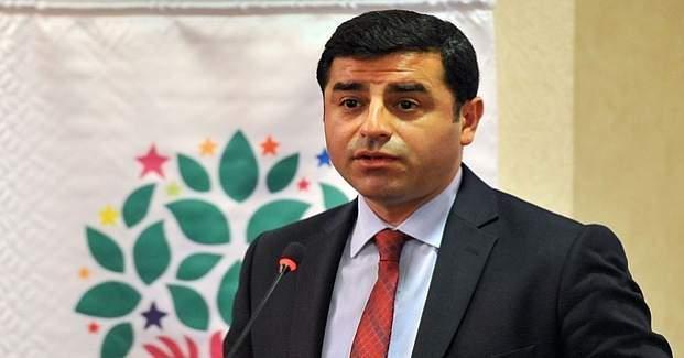 Savcı, HDP Eş Genel Başkanı Demirtaş'a tutuklama istedi