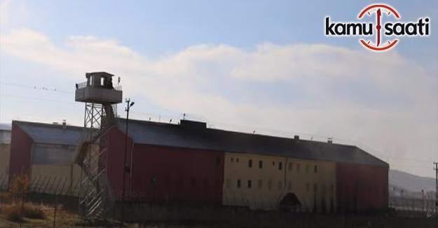Siirt cezaevinde yangın: 6 İKM hastaneye kaldırıldı