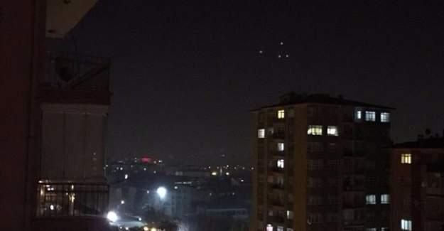 Sosyal medyada 'UFO' iddiası TrendTopic oldu
