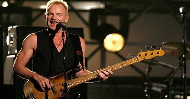 Sting'ten Fransa konserinde, Müslümanlar'a destek!