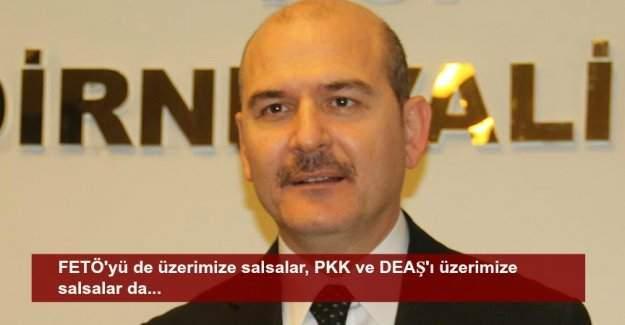 Süleyman Soylu AP'nin kararına ilişkin açıklamada bulundu