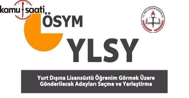 YLSY Sözlü Sınava çağrılmaya hak kazanan adaylar açıklandı