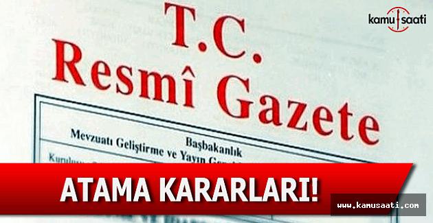 24 Aralık 2016 tarihli Atama Kararları