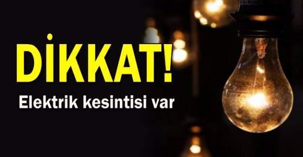 27 Aralık günü İstanbul'un 9 ilçesinde elektrik kesintisi yaşanacak