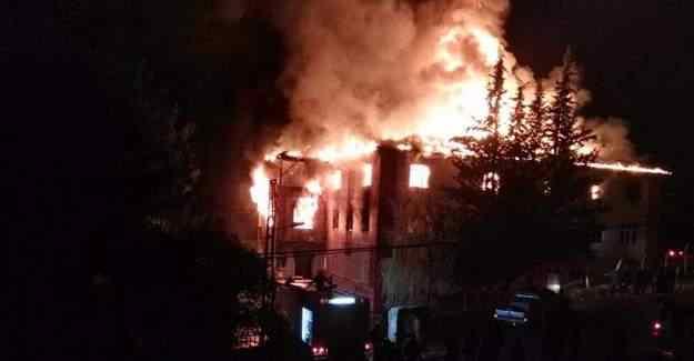 Adana Aladağ'daki yurt yangınında flaş gelişme