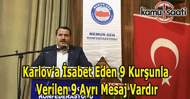 """Ali Yalçın: """"Karlov'a isabet eden 9 kurşunla verilen 9 ayrı mesaj vardır"""""""