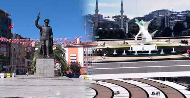 'Atatürk heykeli kaldırıldı' haberleri için belediye açıklama yaptı