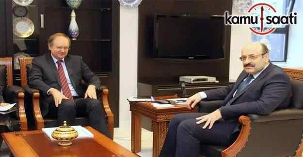 Başkan Saraç AB'ye Türk Yükseköğretimini anlattı