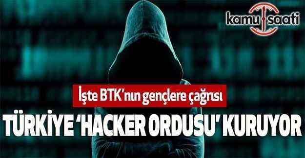 """BTK'dan """"Beyaz Hacker"""" Ordusu- 10 Bin Lira maaş"""