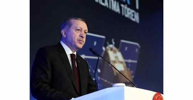 Cumhurbaşkanı Erdoğan'dan 'Gökürk-1 Uydusu' açıklaması