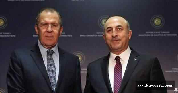 Dışişleri Bakanı Çavuşoğlu, Rusya'yla görüştü