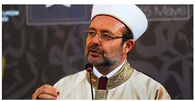 Diyanet İşleri Başkanı Mehmet Görmez, öğretmenlere seslendi