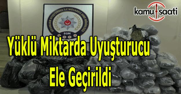 Diyarbakır'da yüklü miktarda uyuşturucu ele geçirildi