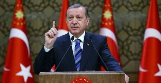 Erdoğan'dan Almanya'ya sert tepki