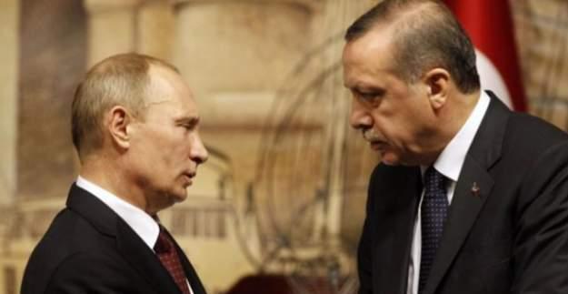 Erdoğan ve Putin Suriye için telefonla görüştü