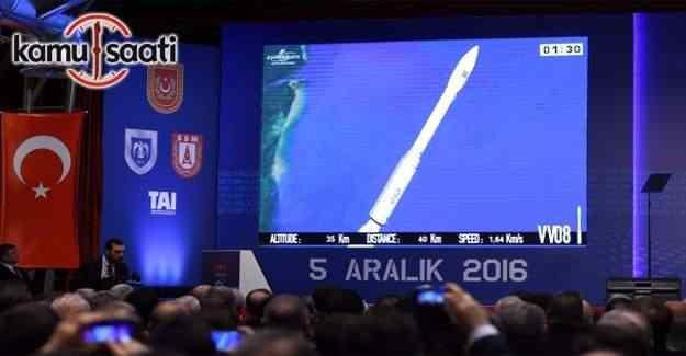 GÖKTÜRK-1 uydusu, Fransız Guyanası'ndan fırlatıldı
