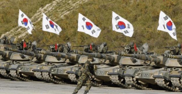 Güney Kore'deki askeri üste patlama oldu