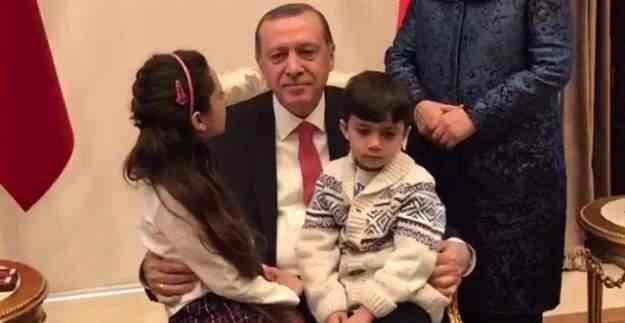 Halep'li Bana, Erdoğan'ı duygulandırdı