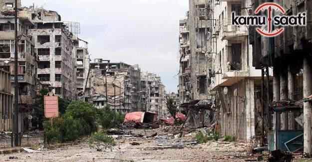 Halep'te ateşkes ilan edildi