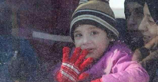 Halep'ten tahliye edilen kişi sayısı açıklandı