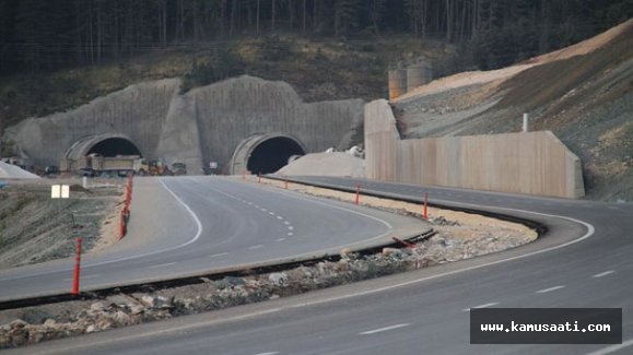 Ilgaz Tüneli 26 Aralık'ta hizmete giriyor
