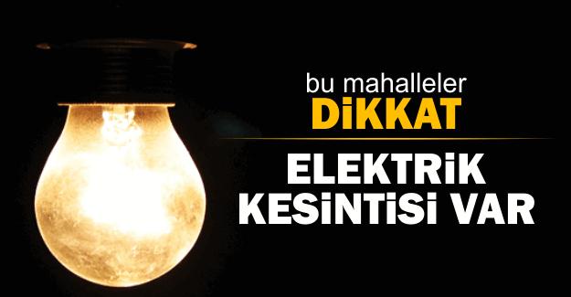 İstanbul'da 9 Aralık 2016'da elektrikler kesilecek