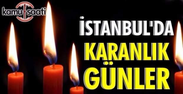 İstanbul'da elektrik kesintileri sürüyor- Elektrikler ne zaman gelecek?